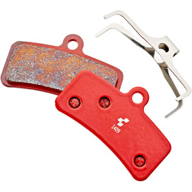 Cube Disc Brake Pads Shimano Saint BR-M820/810, Zee BR-M640, BR-M8020, MT520 red